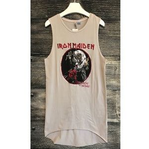 Iron Maiden Number Of The Beast Jersey Dress XS